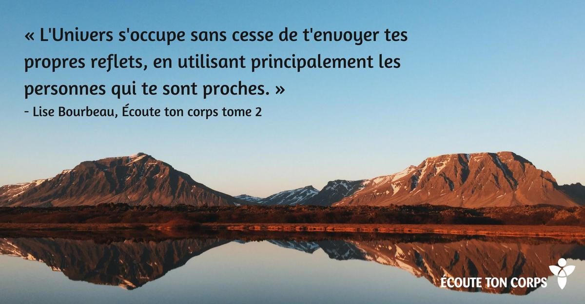 écoute Ton Corps Citations De Lise Bourbeau
